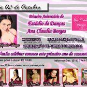 1o Aniversário do Estúdio de Danças Ana Claudia Borges