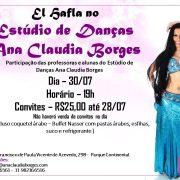 El Safla no Estúdio de Danças Ana Claudia Borges